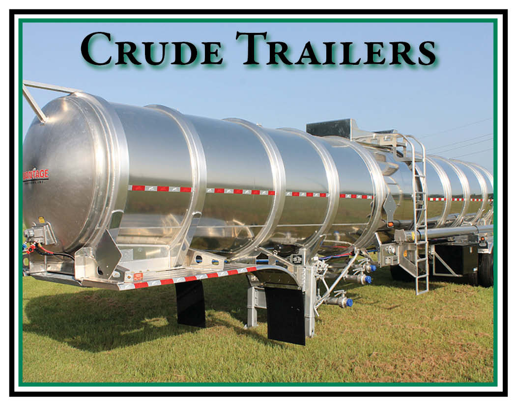 Crude Oil Tanker Trailers & Used Crude Oil Trailers for Sale